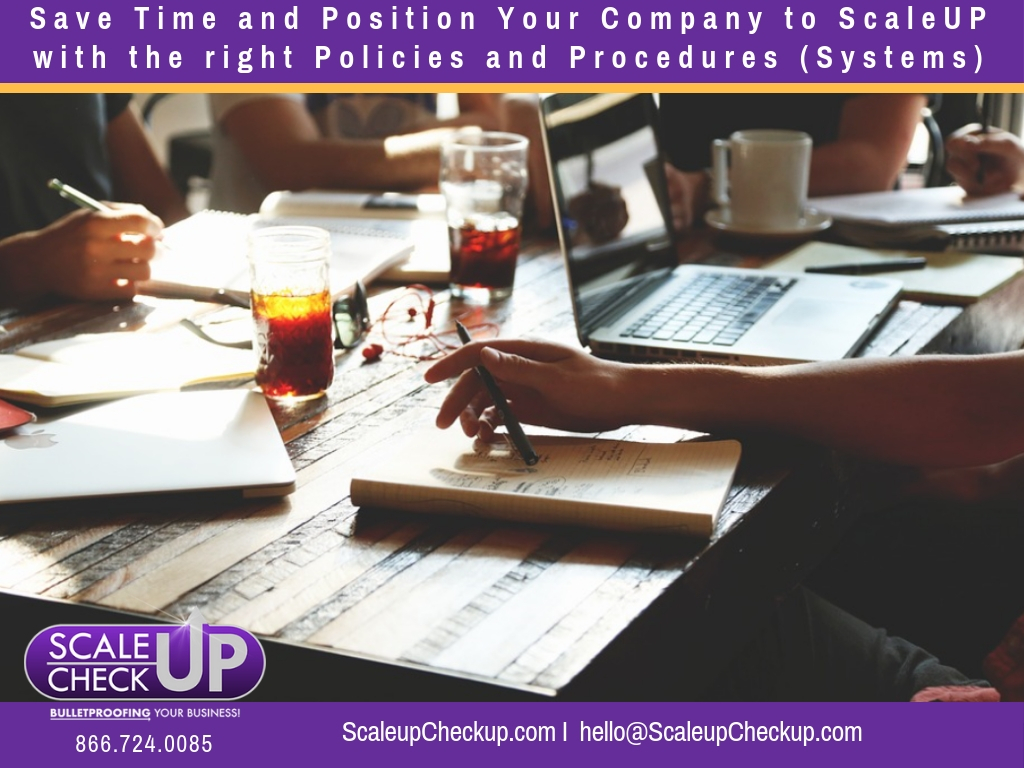 """Save Time and Position Your Company to ScaleUP"""
