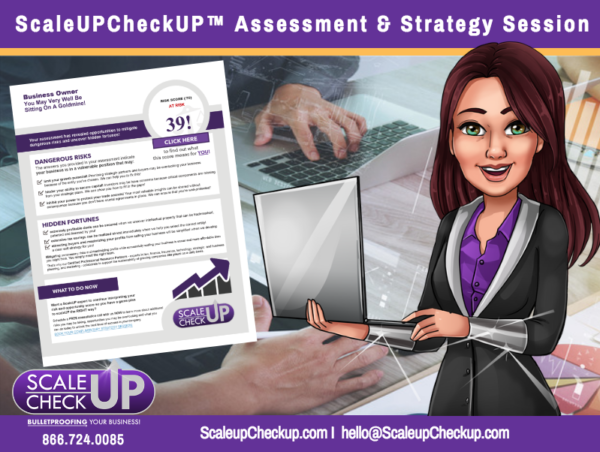"""ScaleUPCheckUP Assessment and Strategy Session"""