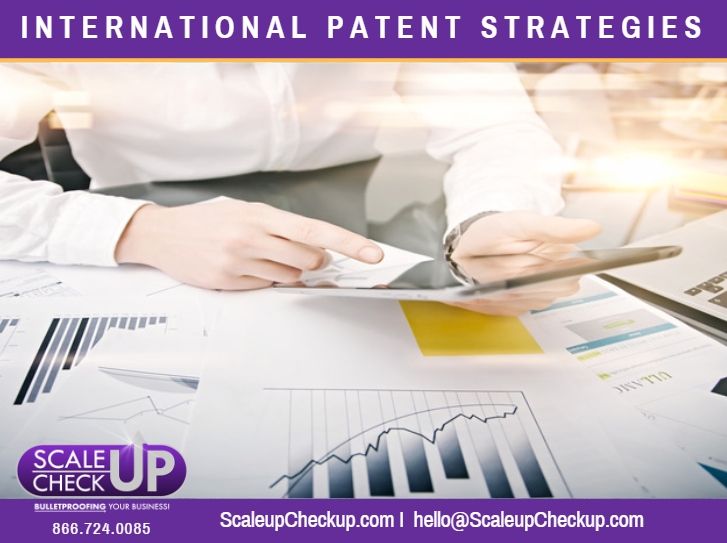 """International Patent Strategies ScaleUPCheckUP'"