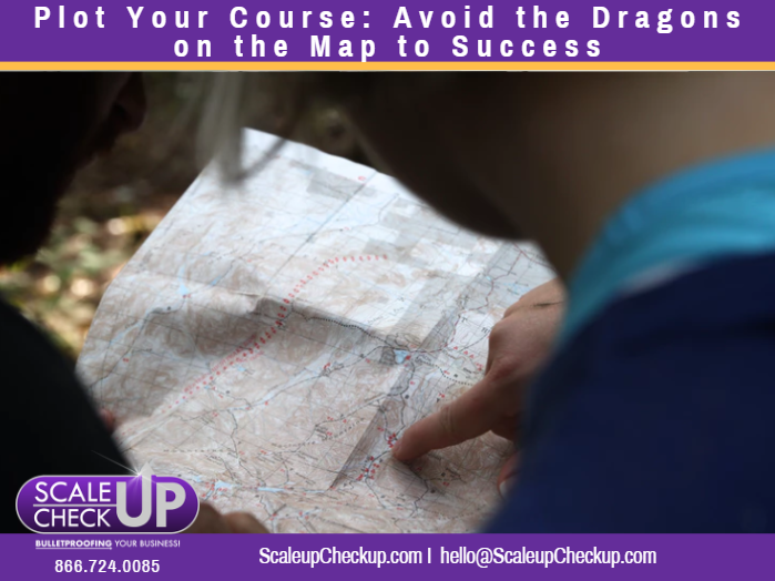 """Plot Your Course: Avoid the Dragons on the Map to Success"""